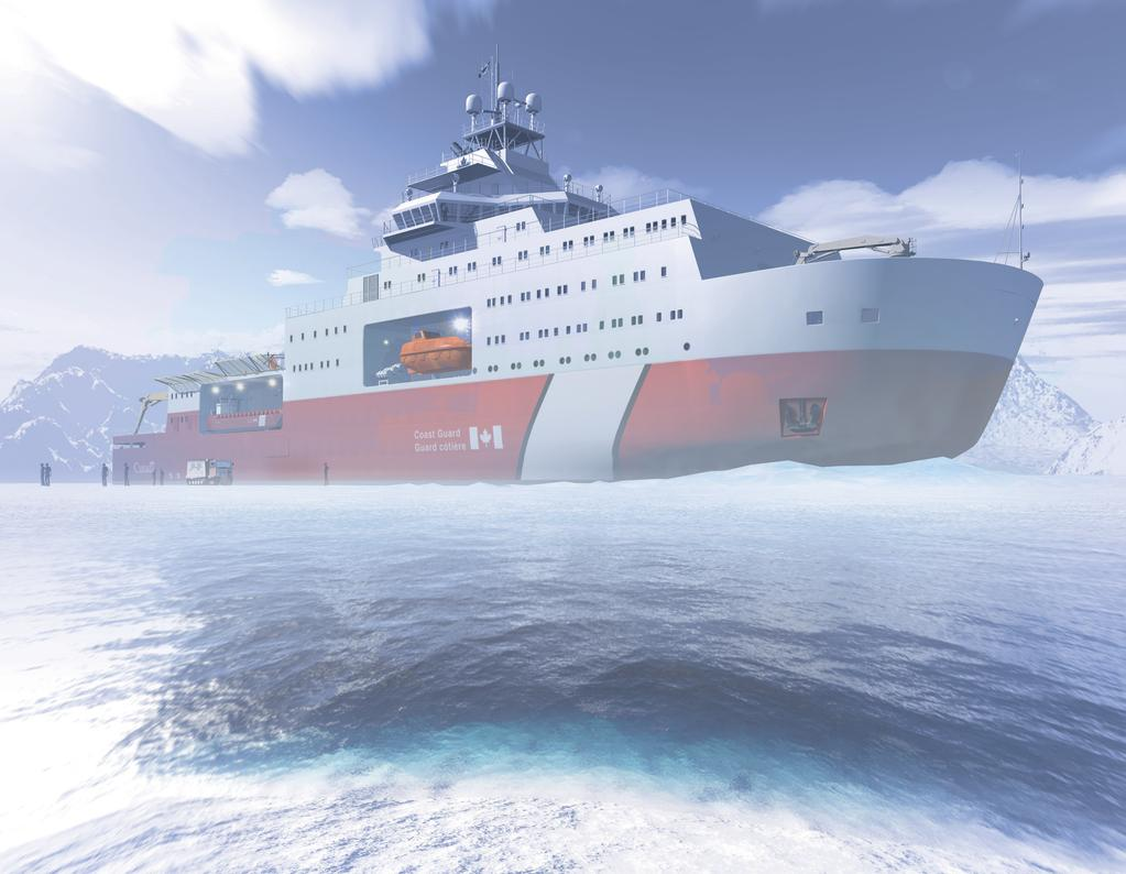 1 Polar Icebreaker The world s most powerful, privately-owned icebreaker Built in 2012 Arctic Expedition / Survey /