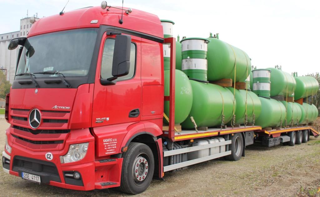 Our storage tanks can be used for domestic heating purposes, for