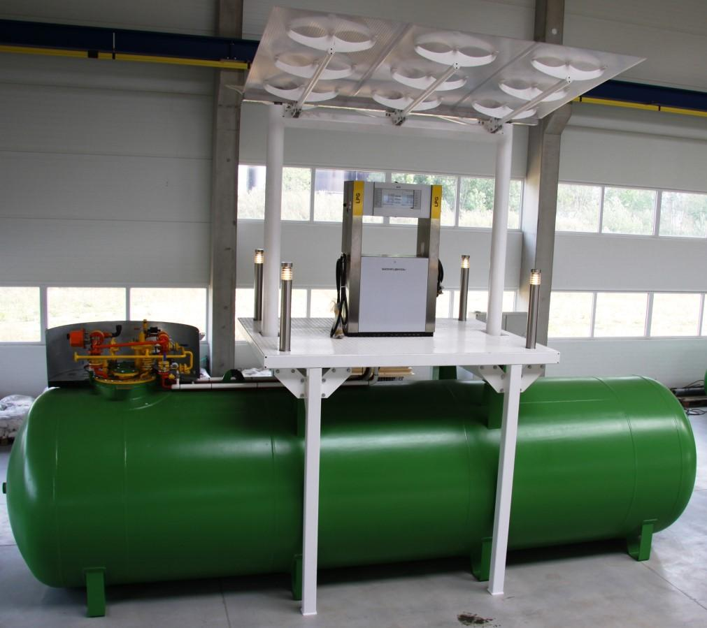 AUTOGAS COMPACT FILLING UNIT OVERVIEW We offer 3 versions of autogas compact filling unit: with submersible pump Red Jacket in shaft with submersible pump Red Jacket without