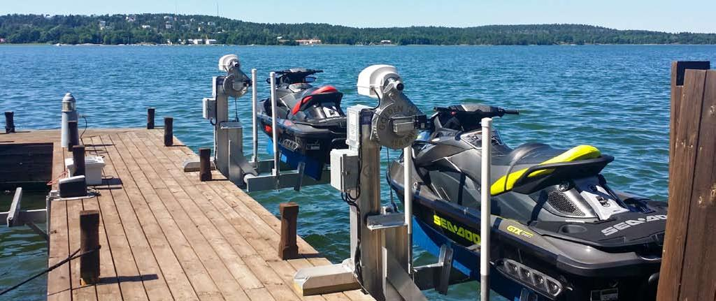 WHY BUY A GOLDEN 3K single track boat LIFT?