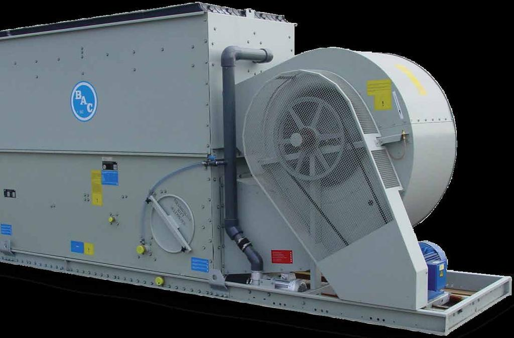 AVAILABLE OPTIONS for any site conditions Evaporative closed loop cooling towers SEPARATE COOLING