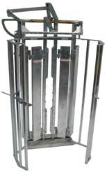 gates on the market that when adjusted to full opening will safely stay open When