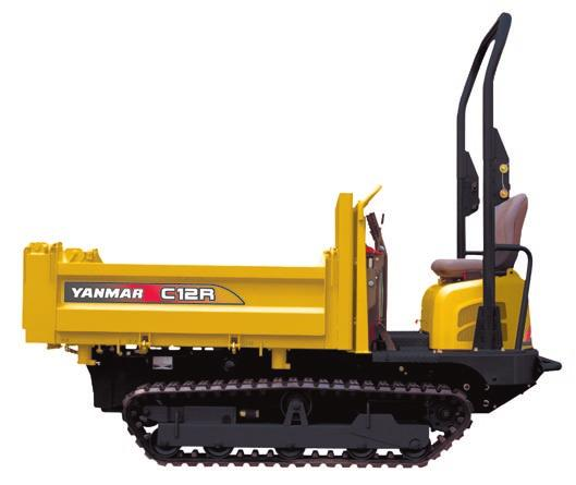 COMPACTNESS The Yanmar is ideal for use on all type of grounds and offers