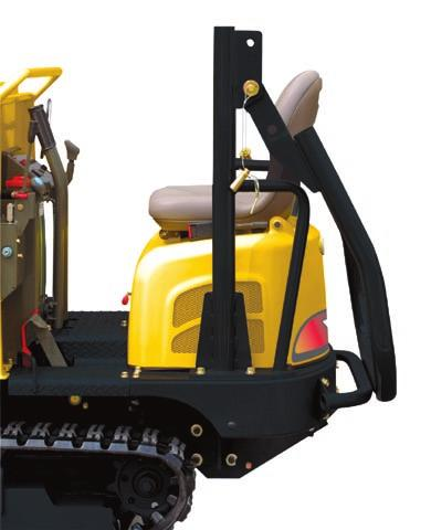 SAFETY Foldable ROPS