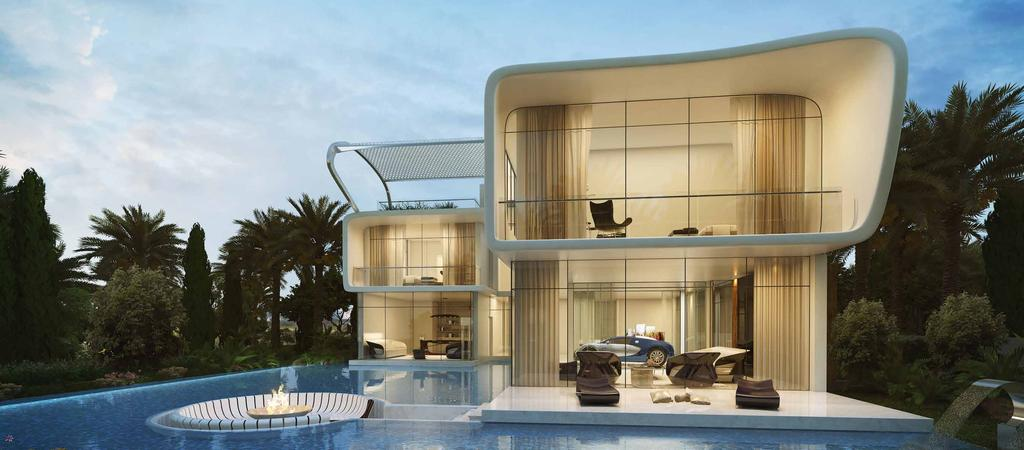 ETTORE 971 BUGATTI STYLED VILLAS INSPIRED BY CLASSIC AUTOMOTIVE ARCHITECTURE There is a limited number of these