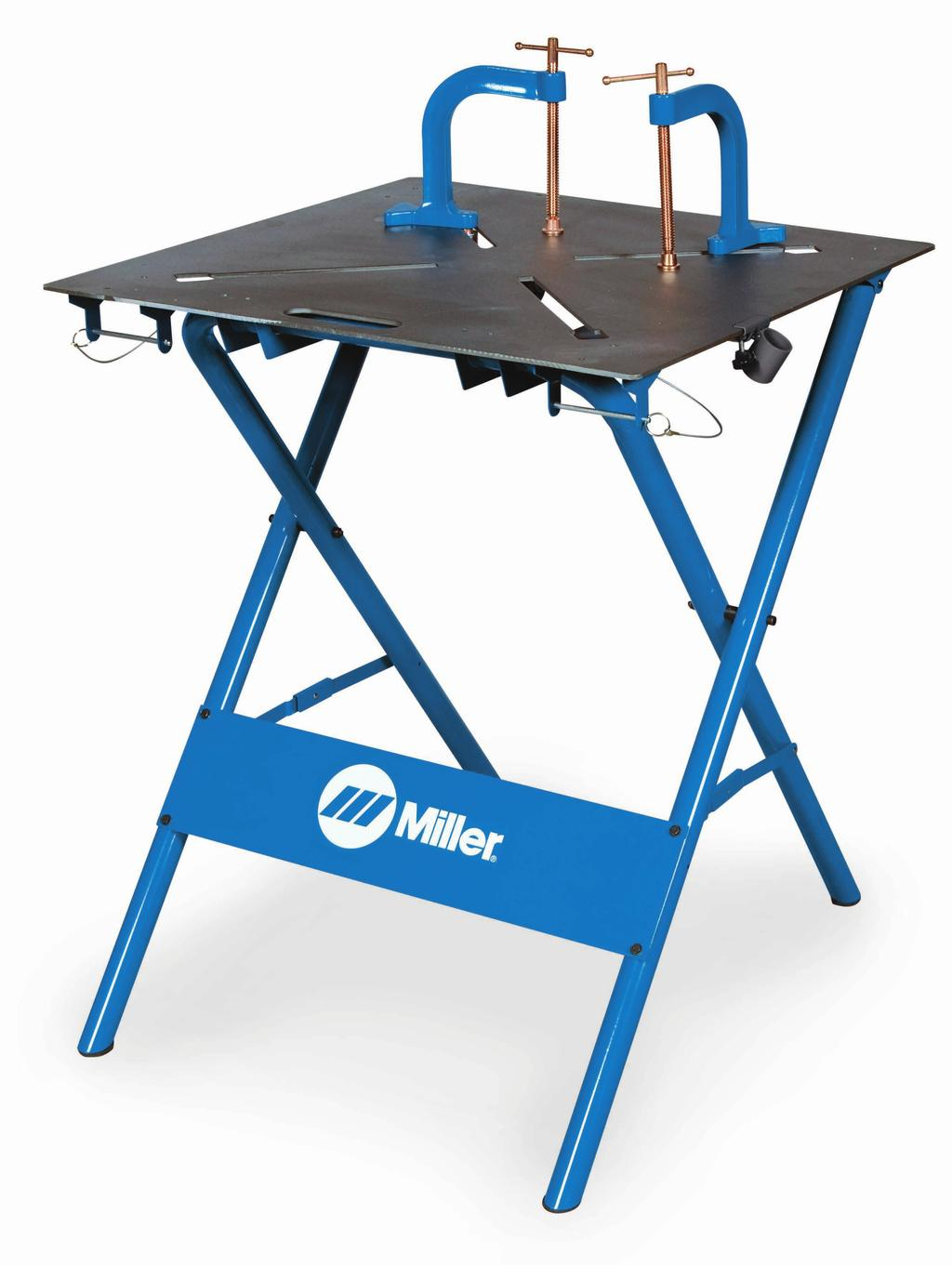 MIL300837 Miller ArcStation 30FX Welding Table $279.99 MIL300850 X-Clamps 5 $39.99 each The Miller ArcStation 30FX is the ideal work surface for the welder who requires portability and space savings.