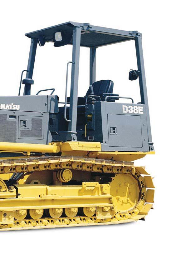 D38E-1 and D38P-1 D38-1 DOZER Designed and built to provide maximum versatility, reliability, and productivity.