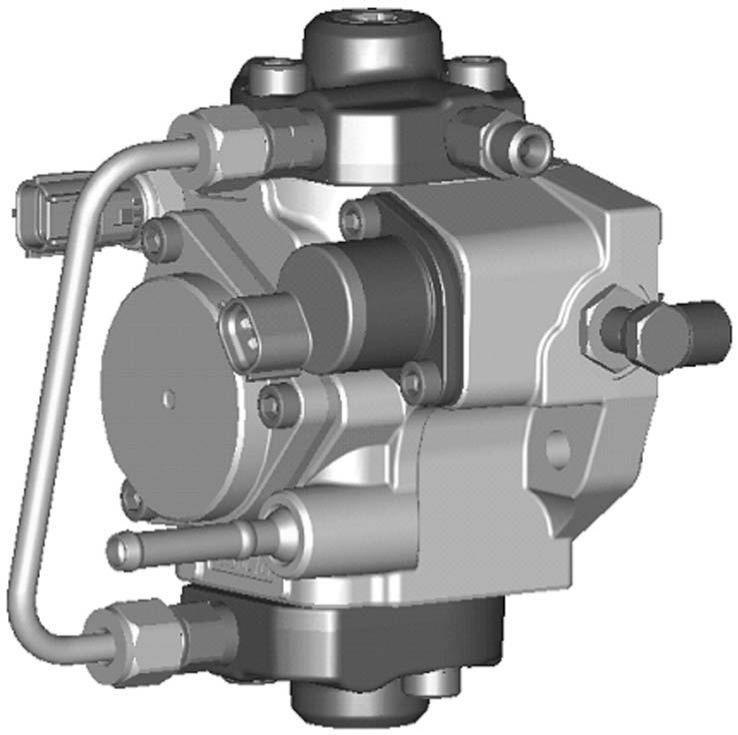 Operation Section 1 2 2. SUPPLY PUMP 2.1 Outline This HP3 supply pump is equipped with a compact Suction Control Valve (SCV).