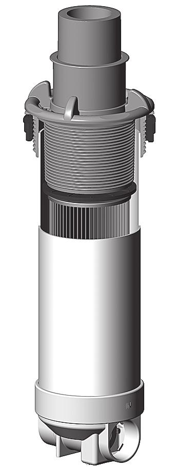 restriction valve for improved filtration with low volume Two basket sizes Dyna-Flo replacement parts fit all existing Dyna-Flo Top-Mount Filters Retrofits Dynamic Series Rainbow Skim Filters ø 7.