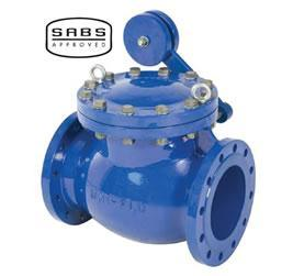 UNI-FLO FLANGED CHECK VALVE