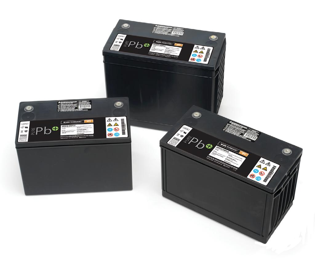 UPS 12-1121 PURE LEAD PLUS Valve Regulated Lead Acid Battery Designed for UPS Standby Power Applications 305-545 Watts per APPLICATIONS Data Centers Network Operations Centers Industrial Process