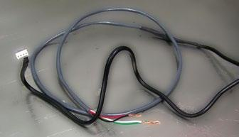 Step 8 - Prepare the power cable Splice the extension cable to the four-wire power cable.