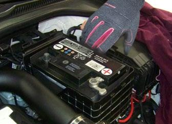 Special Caution - Battery Safety There are several things to consider before you disconnect and remove the battery: 1) Use extreme caution when working around any battery.