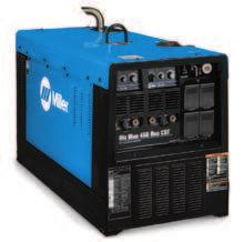 Big Blue 450X Duo CST See Literature No. ED/5.5 Durable dual-operator welder/generator, delivers proven CST 280 Stick/TIG performance maximizing productivity and efficiency.