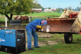 Bobcat 225 (Gas) See Literature No. ED/4.4 Cost-effective, multiprocess machine primarily used for Stick welding. Great for farm, ranch, maintenance/repair operations and as a stand-alone generator.