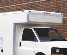 for easy access. Rear access ladder allows easy access to aluminum ladder rack.