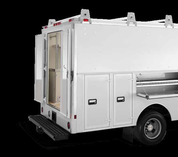 TM The Spartan Service Van is the most reliable, convenient, simple-to-use contractor van available.