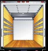 (wall) E Track (wall) F Track (ceiling); F Track (floor) Rope Ties Floor Ties (light- or heavy-duty option)
