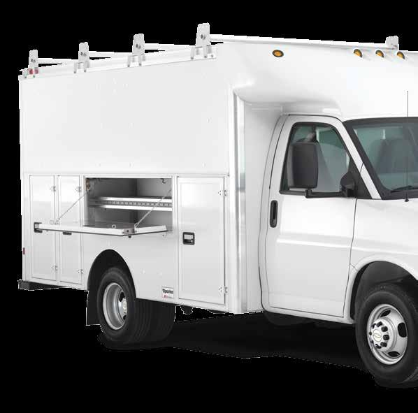 traditional cargo van, the versatility and convenience of a larger