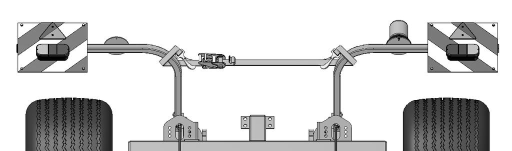 2. Transportation / Installation 3. Carefully operate the hydraulics to lower the drawbar and tilt the CultiPress onto the road transport wheels. Fully extend the drawbar cylinders. 4.