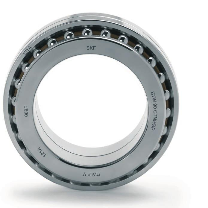 Bearing markings Each SKF-SNFA bearing in the BTW series has various identifiers on the external surfaces of the washers ( fig.