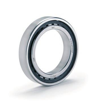The extended range of bearings in this series now accommodates shaft diameters ranging from 7 to 140 mm. And, there is also a relubrication-free, sealed variant, available on request.