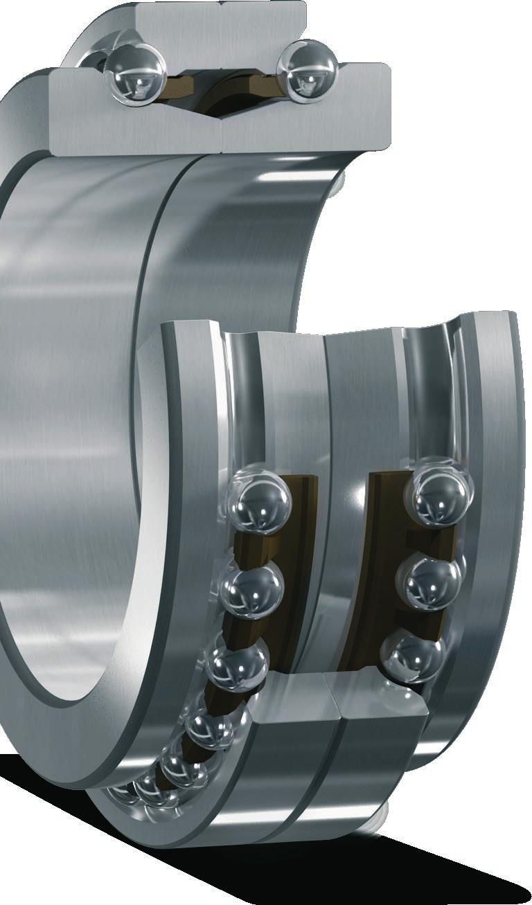 SKF-SNFA super-precision double direction angular contact thrust ball bearings A Double direction angular contact thrust ball bearings were developed by SKF to axially locate machine tool spindles in