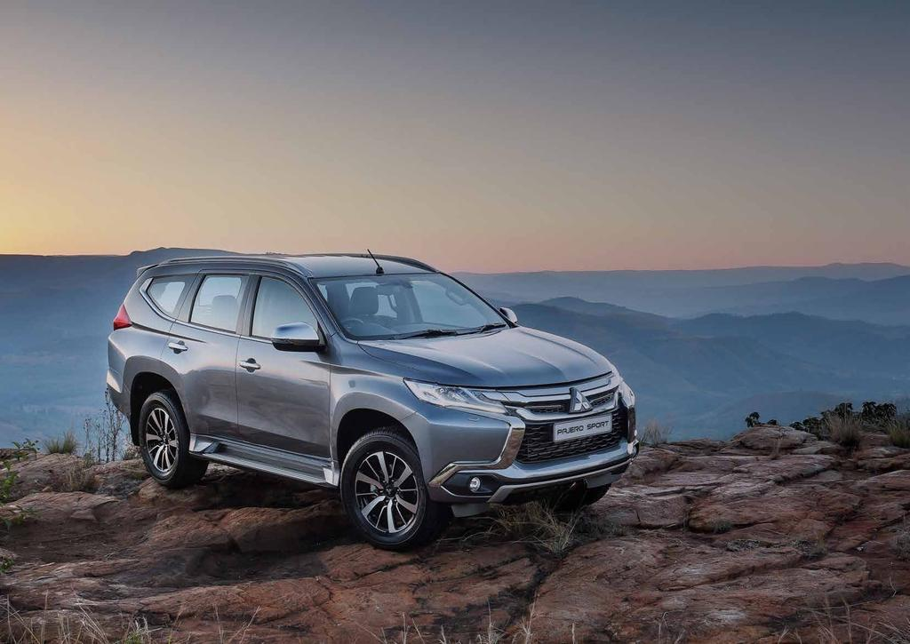 NEXT GENERATION LEGEND The Pajero Sport is the result of years of technological development and is the most sophisticated sport utility vehicle that Mitsubishi has ever brought to market.