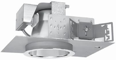 TRIPLES-H 132/6 recessed compact fluorescent downlight/wallwasher Type 'DFD' COMPACT FLUORESCENT 1-372 FEATURES Triples-H 132/6 is an efficient 6 aperture low brightness downlight, for use with one