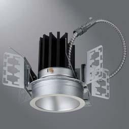DESCRIPTION 4 inch LED recessed wide beam downlight specially designed for LED technology.