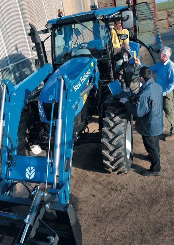 2 3 NEW HOLLAND LOADERS FOR NEW HOLLAND TRACTORS PURPOSE DESIGNED FOR A PERFECT MATCH.