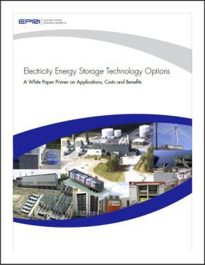 others working towards reliable, safe, and cost-effective energy storage options for the utility