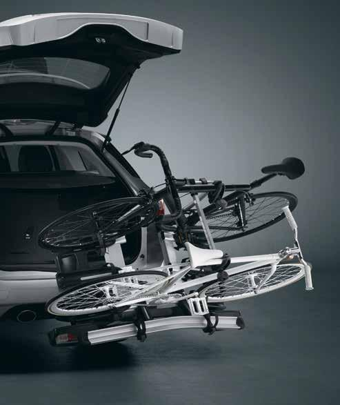 Used to mount your bicycle rack, ski rack or roof locker thus increasing the vehicle's loading capacity.