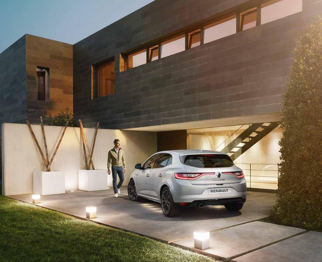 Sleek design Customize the appearance of your Megane to make it more elegant and distinctive.