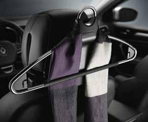 82 612 871 (Hatchback) 82 612 888 (Estate) On-board experience 02 Hanger on headrest It allows you to carefully hang your