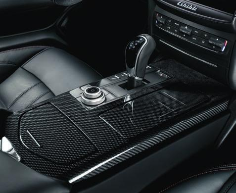 Sport foot pedals. Additionally, there is the option of a carbon package with the GranSport.