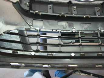 The photo above shows the recommended installation of the cables to frame of vehicle (see white arrow).