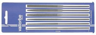 R2710 L2442 Set of 6 needle files, in pouch 0 2 L = mm L2442-0