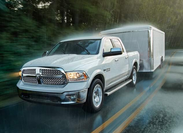 RAM 1500: 10,620-LB MAX TOWING * AND MORE. 24 ELIMINATE LIFE S UPS AND DOWNS.
