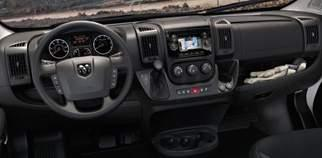 Inside, convenience rules, with soft-touch materials, standard telescoping steering column, easy-to-read instrumentation
