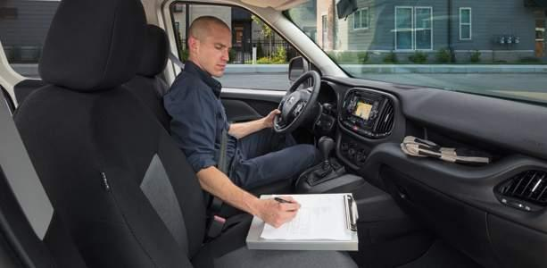 ERGONOMIC AND INVITING SEATING LEADING-EDGE TELEMATICS ABUNDANT STORAGE SOLUTIONS 33 RAM PROMASTER CITY CARGO VAN AND WAGON: A WORKING EXAMPLE OF COMFORT. The more we design, the more we improve.