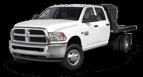 RAM 3500 CHASSIS CAB STANDARD 6.4L HEMI V8. MASSIVE GCWR. A JAW-DROPPING LIST OF BEST-IN-CLASS STRENGTHS. THIS CHASSIS CAB DOES THE JOB LIKE NO OTHER.