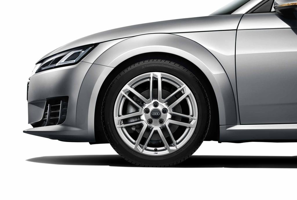 packages Adding style and performance, these winter wheel and tire packages feature Audi Original winter tires specifically engineered to help improve traction and handling in a variety of