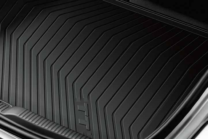 All-weather cargo mat Custom fit for your Audi TT, the raised outside edge of the cargo mat helps