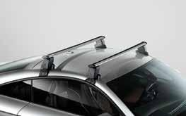 TravelSpace Transport Base carrier bars 1 Attached to strong side brackets, these are the foundation of the Audi