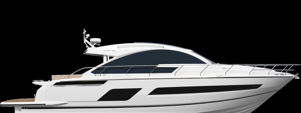 2018 Model Year Standard Specification Principal Dimensions Length overall (inc. pulpit): 55 6 (16.92m) Length overall (exc. pulpit): 53 6 (16.32m) Beam (inc. gunwale): 14 10 (4.