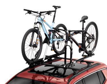 Accommodates up to two surf or paddle boards, or a combination of the two, and features built-in board protection with cushioned, weather-resistant padding. Carrier mounts to the Roof Bars.