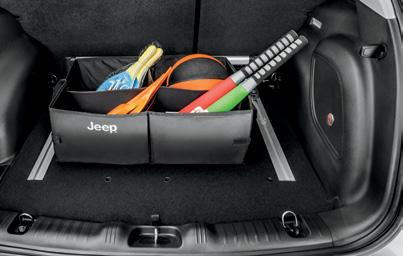It includes a retention strap and four-way wiring plug holder, and features the Jeep Brand logo. [ 82208453AB ] E.