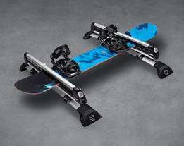 06 // THULE BOARD SHUTTLE 5 / This durable attachment securely carries up to two of your