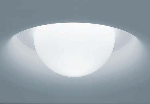 Single lamp range TZ-4 For recessed and inserted modules.